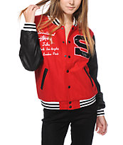 Stussy Letterman's Jacket