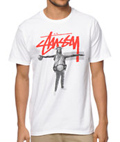 Stussy Liberty B Ball Tee Shirt