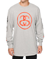 Stussy Link International Long Sleeve T-Shirt