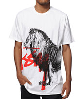 Stussy Lion Stock T-Shirt