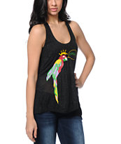 Stussy Macaw Bubble Black Tank Top