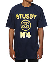 Stussy No 4 Gold T-Shirt