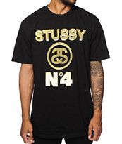 Stussy No 4 Gold T-Shirt