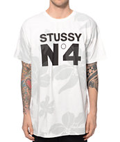 Stussy No4 Flowers T-Shirt