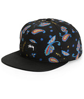 Stussy Paisley Snapback Hat