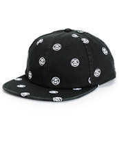 Stussy SS Link Embroidered Snapback Hat