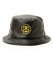 Stussy SS Link Leather Bucket Hat