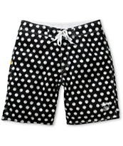 Stussy Scratch Dot Black 20 Board Shorts