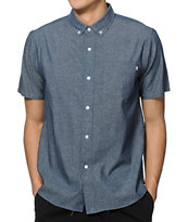 Stussy Solid Chambray Button Up Shirt