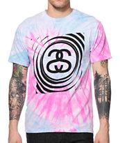 Stussy Spiral SS Tie Dye T-Shirt