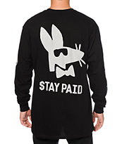 Stussy Stay Paid Long Sleeve T-Shirt