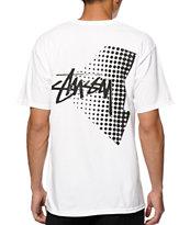 Stussy Stock Halftone T-Shirt