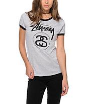 Stussy Stock Link Ringer T-Shirt