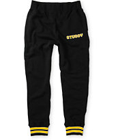 Stussy Stripe Jogger Sweatpants