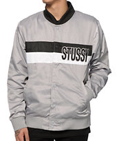 Stussy Stripe Satin Jacket