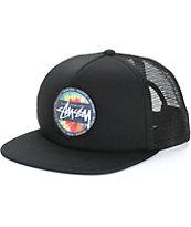 Stussy Tie Dye Dot Trucker Hat