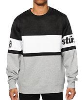 Stussy Track Crew Neck Sweatshirt