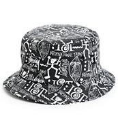 Stussy Tribal Bucket Hat