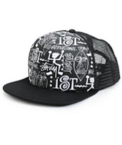 Stussy Tribal Trucker Hat