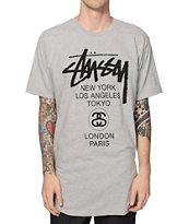 Stussy World Tour Dot T-Shirt