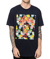 Stussy World Tour Flower Block T-Shirt