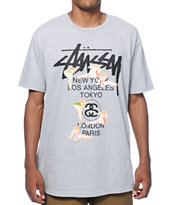 Stussy World Tour Girls T-Shirt