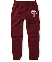 Stussy World Tour Jogger Sweatpants