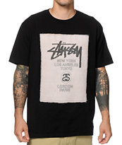 Stussy World Tour Stitch Tee Shirt
