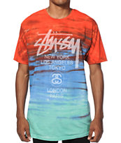 Stussy World Tour Tie Dye T-Shirt