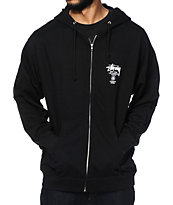 Stussy World Tour Zip Up Hoodie