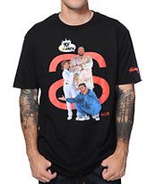 Stussy X Yo! MTV Raps MC Lyte Black Tee Shirt