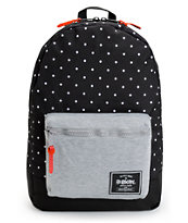 Stussy x Herschel Supply Settlement Black Backpack