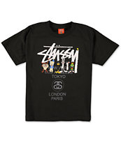 Stussy x Looney Tunes Boys Looney World Tour T-Shirt shirt