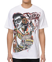 Sullen Hollywoods White Tee Shirt