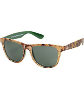Sunscape Binuggular Weed Print Sunglasses