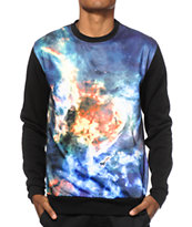 Super Massive Star Field Sublimated Crew Neck Sweatshirt