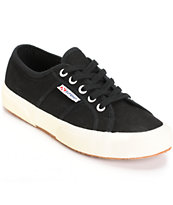 Superga Cotu Classic Black Shoes