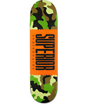 Superior Camo 8.25 Skateboard Deck