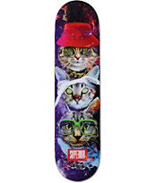 "Superior Cat Style 7.75"" Skateboard Deck"
