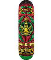 Superior Glow Propaganda 8.0 Skateboard Deck
