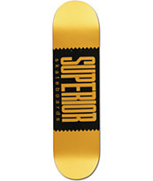 "Superior Golden 8.1"" Skateboard Deck"