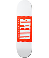 "Superior Logo Wrap 8.25"" Skateboard Deck"