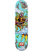 "Superior Solar Teal 7.7"" Skateboard Deck"