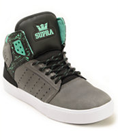 Supra Atom Oiled Nubuck Skate Shoes