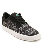 Supra Axle Water Camo Skate Shoes