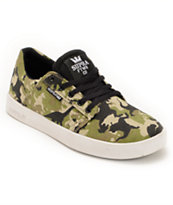 Supra Kids Westway Camo & White Skate Shoe