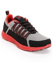 Supra Owen Grey, Black & Red Shoe