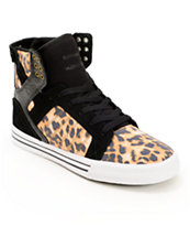 Supra Skytop Cheetah Skate Shoes