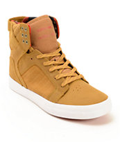 Supra Skytop Embossed Skate Shoes