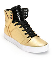 Supra Skytop LS Leather Skate Shoes